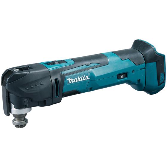 Makita DTM51ZJX1 Multiverktyg utan batteri och laddare med tillbehör