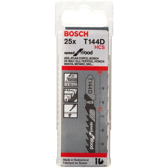 Bosch Speed for Wood Sticksågsblad 100mm 25-pack