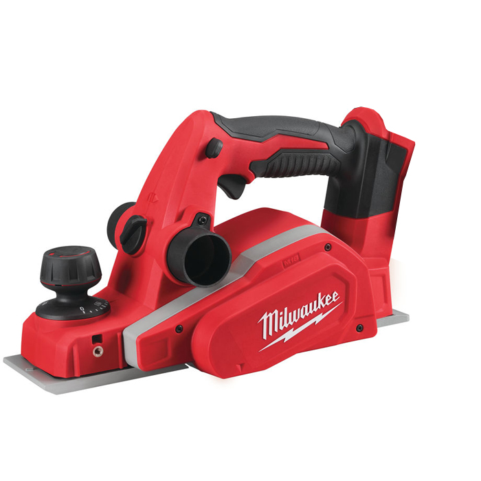 Milwaukee M18 BP-0 Høvel uten batterier og lader