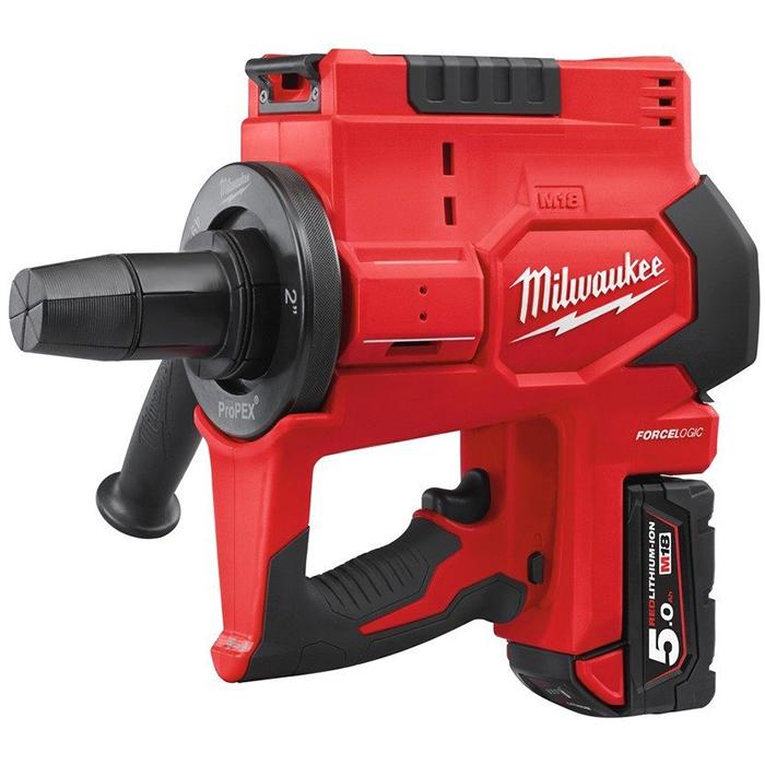 Milwaukee M18 BLPXPL-502C Expansionsverktyg med 50Ah batterier och laddare