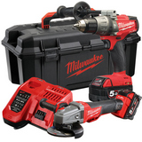 Milwaukee M18 SET2H-502W Verktøypakke