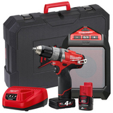 Milwaukee M12 SET2J-421C Verktøypakke