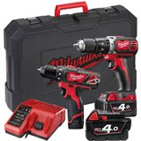 Milwaukee M18 SET2G-423C Verktøypakke