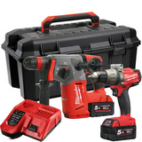 Milwaukee M18 SET2I-502W Verktøypakke