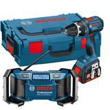 Bosch GSR 18 V-LI  GML SoundBoxx Verktygspaket