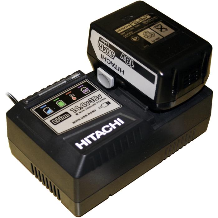 Hitachi UC18YSL3 BSL1850 Laddpaket med 1 st 18V 5.0Ah batteri
