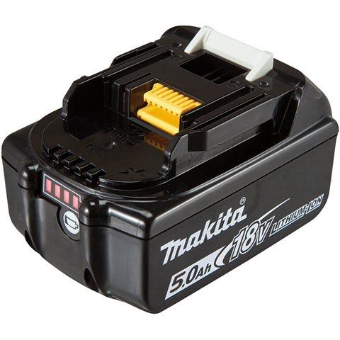 Makita BL1850B 18V 5,0Ah Batteri med indikator