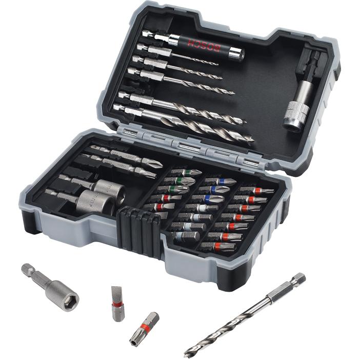 Bosch 2607017327 Wood Bor- og bitssett 35 deler