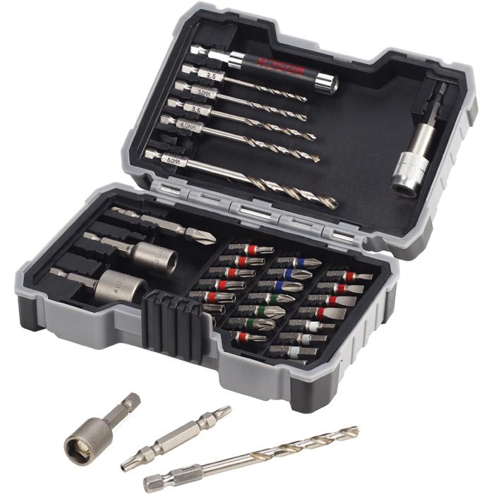 Bosch 2607017328 Metal Bor- og bitssett 35 deler