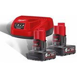 Milwaukee M12 NRG-602 Ladepakke