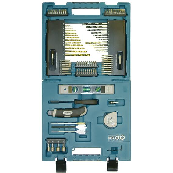 Makita D-31778 Bor- og bitssett 104 deler