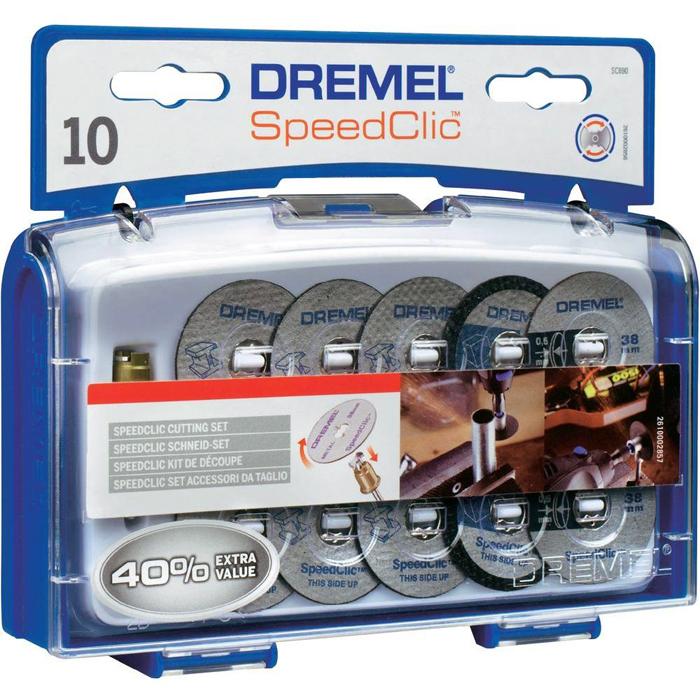 Dremel EZ SpeedClic SC690 Tilbehørssett for kapping 11 deler