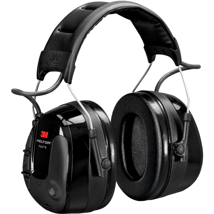 3M Peltor ProTac III Hörselskydd med hjässbygel