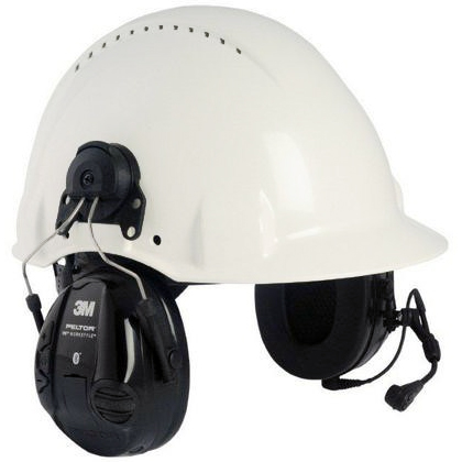 3M Peltor WS Workstyle Hörselskydd Bluetooth med hjälmfäste