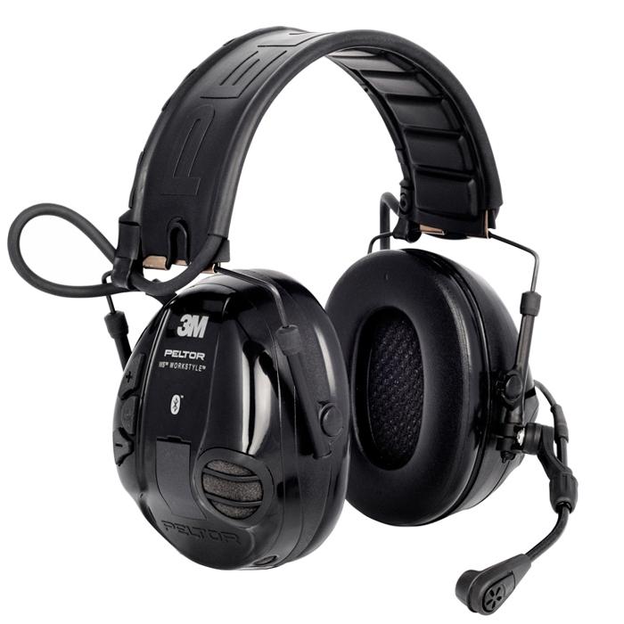 3M Peltor WS Workstyle Hörselskydd Bluetooth med hjässbygel