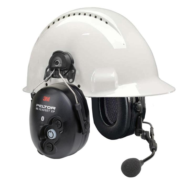 3M Peltor WS Lite-Com Hörselskydd med komradio Bluetooth med hjälmfäste
