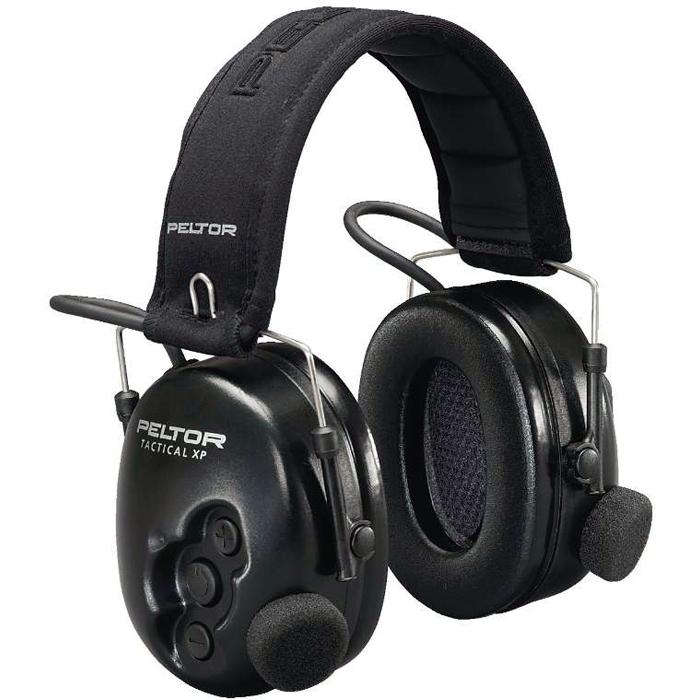 3M Peltor Tactical XP Hörselskydd med hjässbygel
