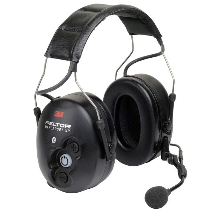 3M Peltor WS Headset XP Hörselskydd med hjässbygel