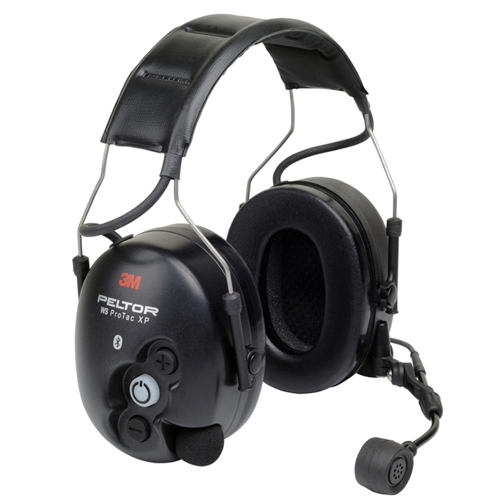3M Peltor WS ProTac XP Hörselskydd med hjässbygel