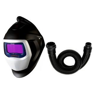 3M Speedglas Black 9100X Svetshjälm med luftkanal