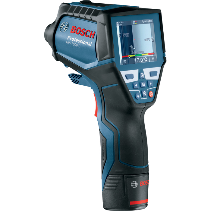 Bosch GIS 1000 C IR-termometer med batteri och laddare