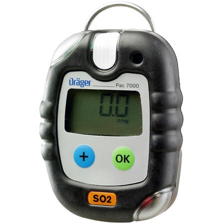 Dräger Pac 7000 En-gasmätare Svaveldioxid (SO2)