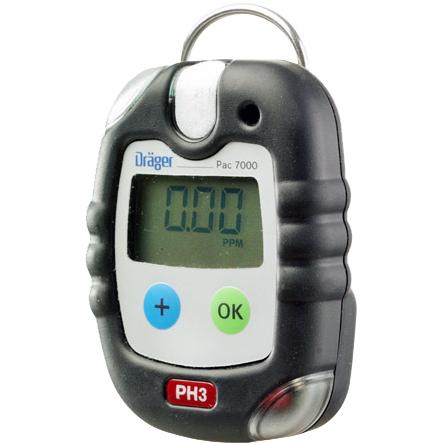 Dräger Pac 7000 En-gasmätare Fosfin (PH3)