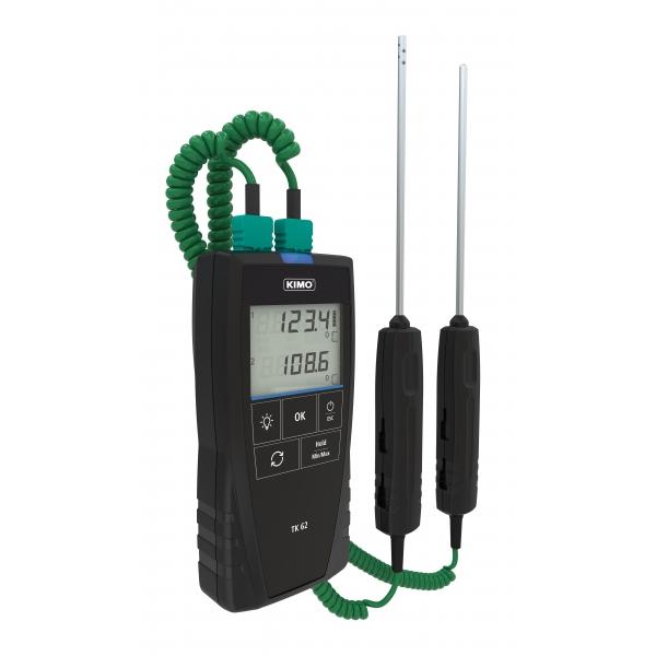 Kimo TK62S Temperaturmätare med certifikat