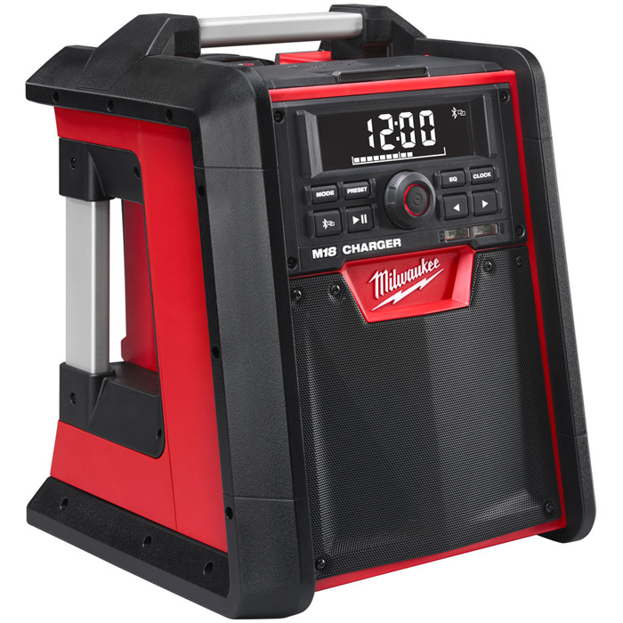Milwaukee M18 RC-0 Radio utan batteri med inbyggd laddare