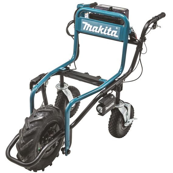 Makita DCU180Z Trillebår uten batterier og lader
