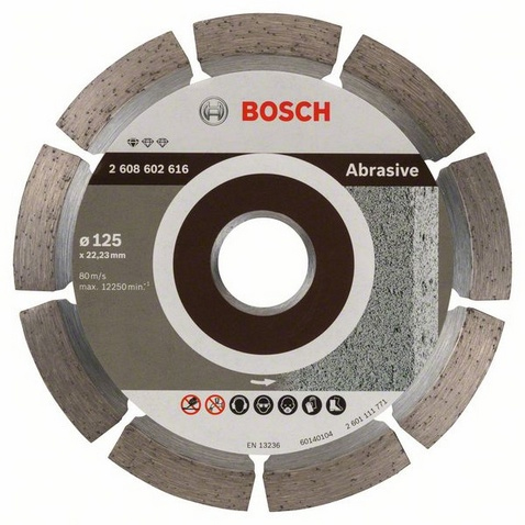 Bosch Standard for Abrasive Diamantkapskiva Ø125mm