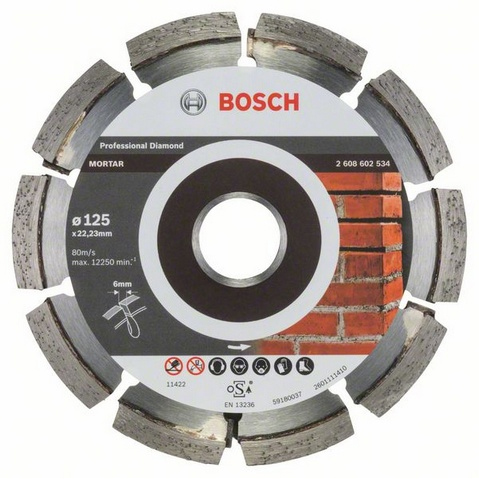 Bosch Expert for Mortar Diamantkapskiva Ø125mm