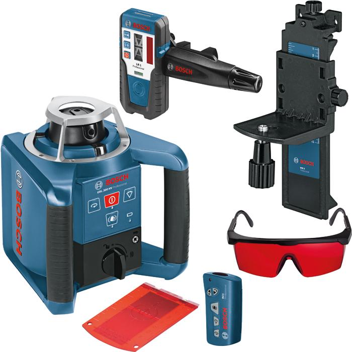 Bosch GRL 300 HV Rotationslaser med lasermottagare