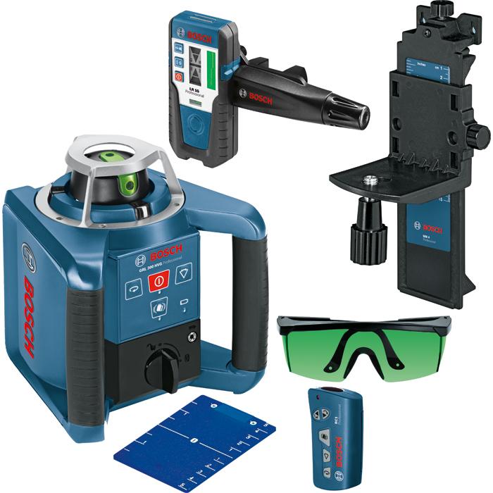Bosch GRL 300 HVG Rotationslaser med lasermottagare