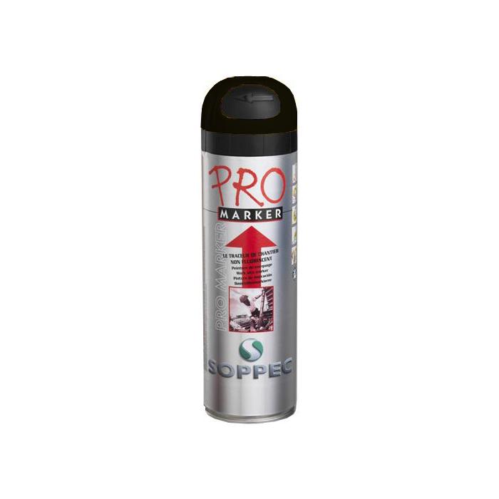 Soppec Promarker Markeringsfarge 12-pakning Svart
