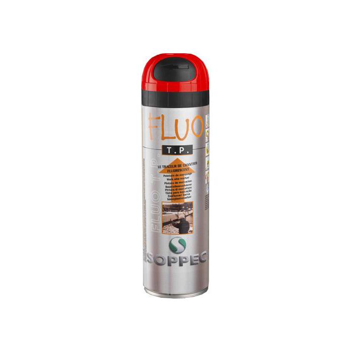 Soppec Fluorescerende markeringsfarge Markeringsfärg Fluorocerande 12-pack Röd
