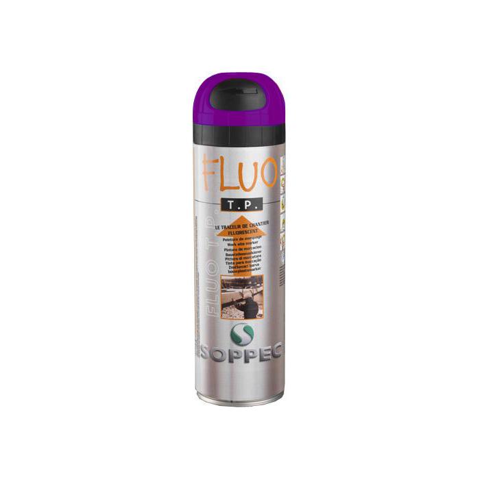Soppec Fluorescerende markeringsfarge Markeringsfärg Fluorocerande 12-pack Lila
