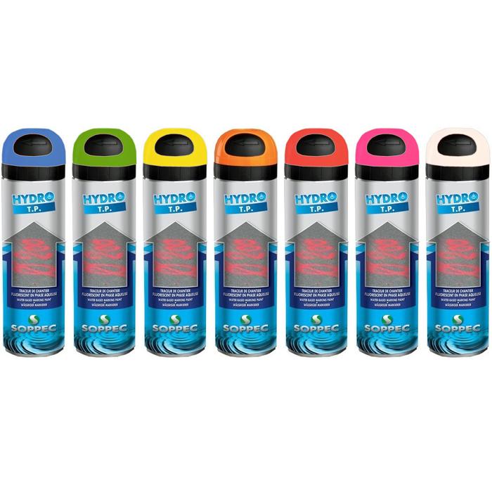 Soppec Hydro TP Markeringsfärg 12-pack