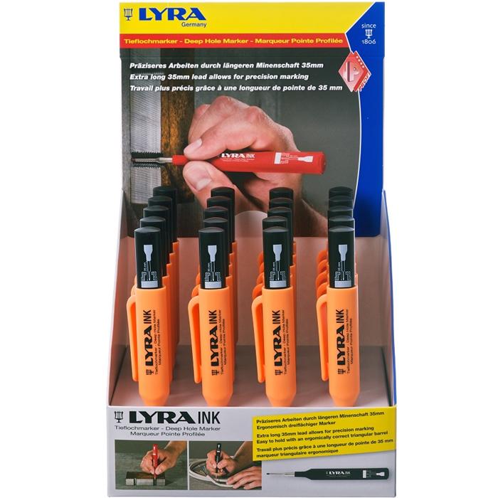 Lyra Ink Snickarpenna 20-pack