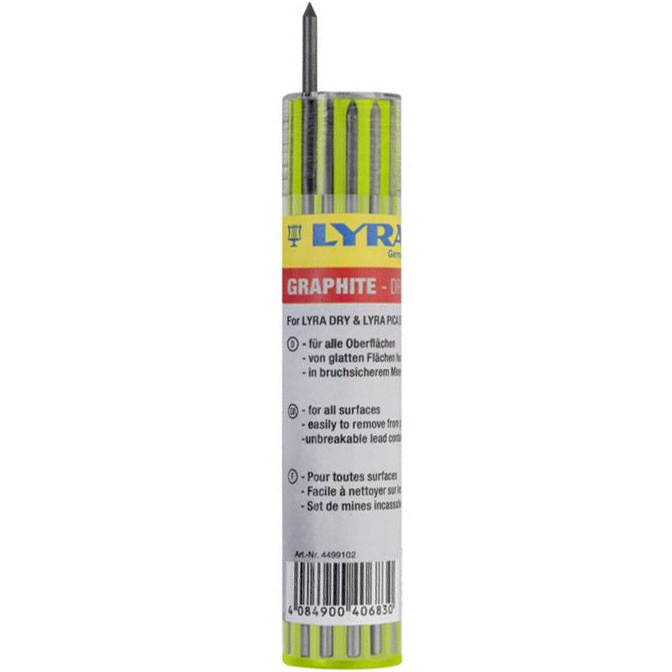Lyra Dry Reservstift Graphite