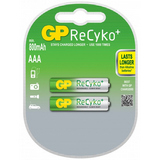 GP Batteries ReCyko R03/AAA Laddbara batterier
