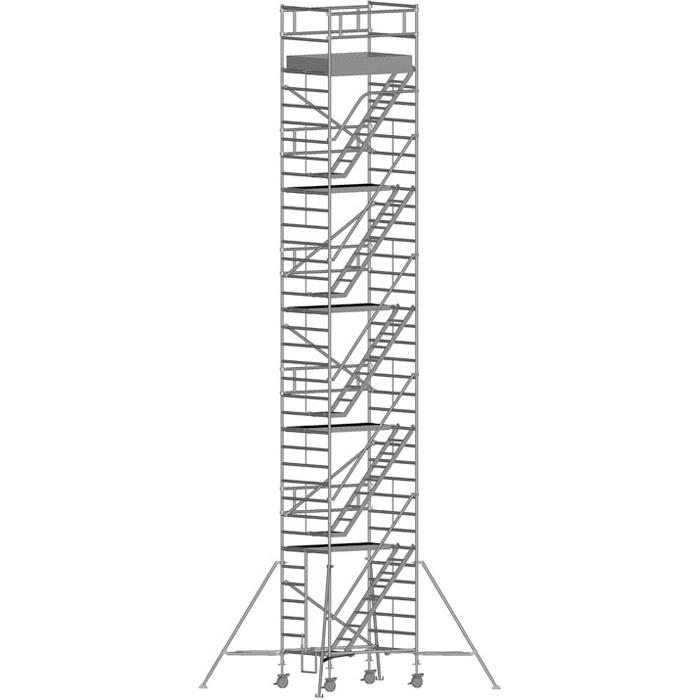 Zarges Z600 Trappställning 135x250x1030 meter