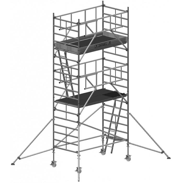 Zarges Z600 S-Plus Safetyställning 135x250x445 meter