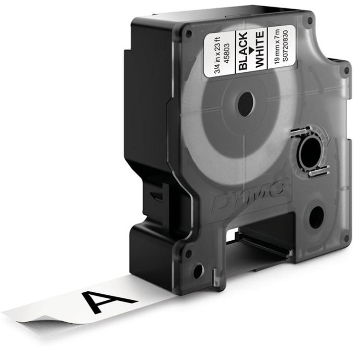 DYMO Standard D1 Tejp 19mm Svart på vitt