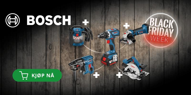 Maskin på kjøpet! Kjøp en verktøypakke fra Bosch!