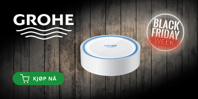 Kjøp en vanndetektor med WiFi fra Grohe!